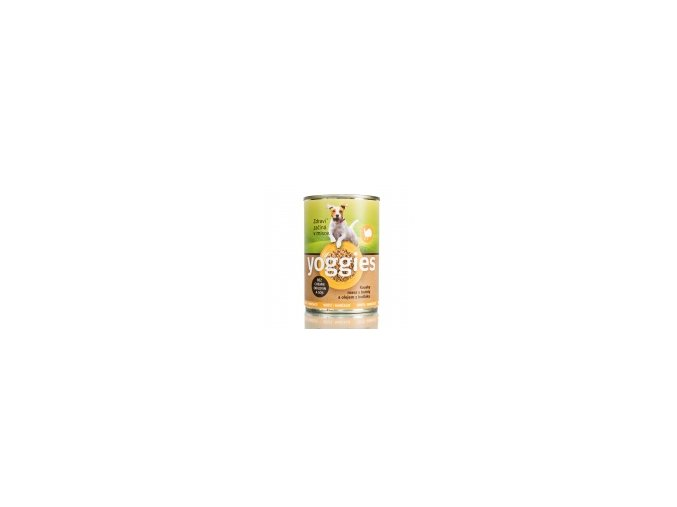 455 400g yoggies kruti konzerva pro psy s bataty a bodlakovym olejem