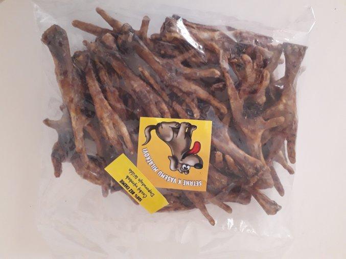 Kuřecí pařát sušený - 1ks