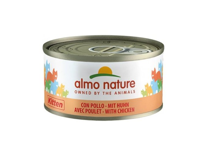 Almo Nature cat - konzerva pro kočky 70g
