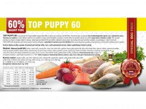 Bardog - top puppy 60 2,5 kg