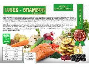 Bardog - losos a brambor 12 kg