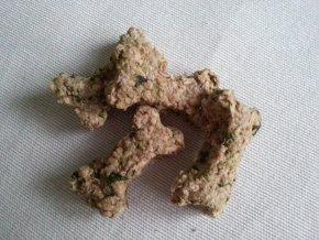 Domácí pečené - Masové kostičky se špenátem